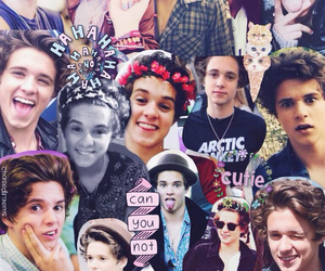 lovely, brad simpson, and the vamps image