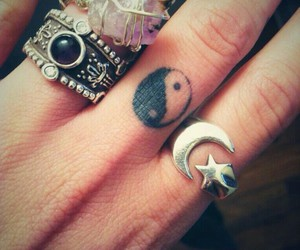 hipster, ring, and rings image
