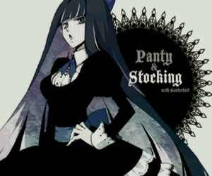 girl, panty & stocking, and cute image