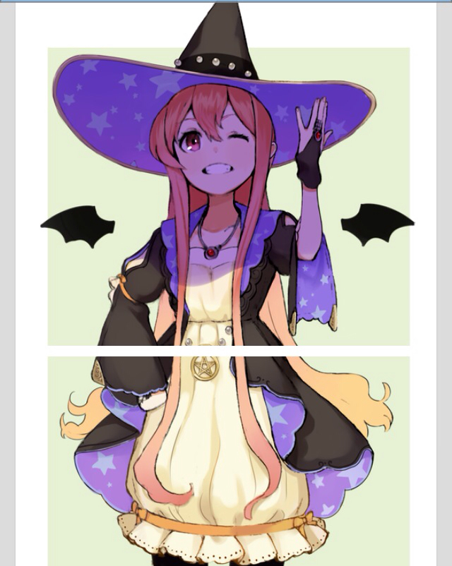 Halloween witch shared by twinkle twinkle on we heart it