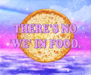 food, pizza, and pastel image