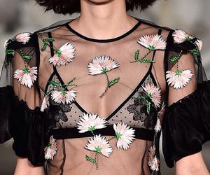 bones, fashion, and flowers image