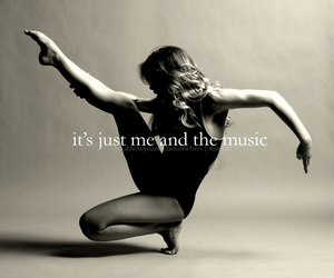 ballet, me, and music image