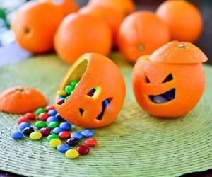 Halloween, orange, and candy image