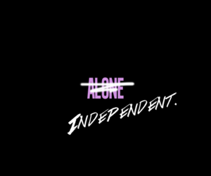 independent and alone image