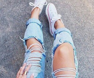 jeans and converse image