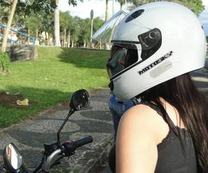capacete, motogirl, and moto image