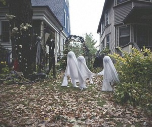 ghosts, Halloween, and home image