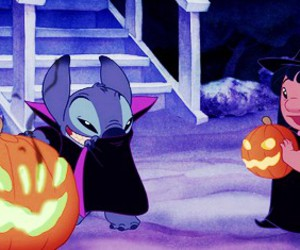 stitch, disney, and Halloween image