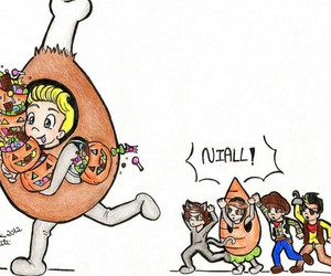 one direction, Halloween, and niall horan image