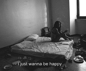 sad, happy, and black and white image