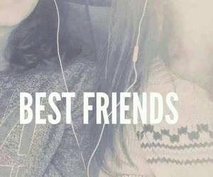 friends, best friends, and music image