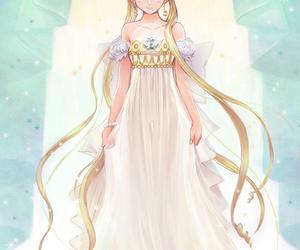 sailor moon, princess serenity, and usagi tsukino image