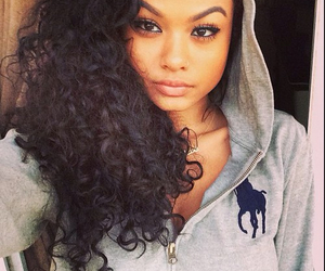 india westbrooks, curly hair, and fashion image