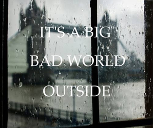 bad, outside, and text image