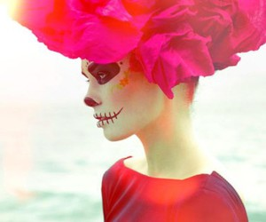 catrina, girl, and Halloween image