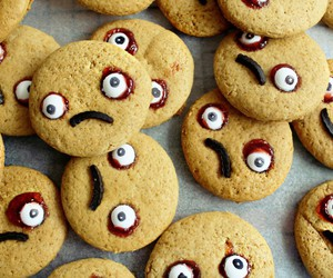 food, Halloween, and Cookies image