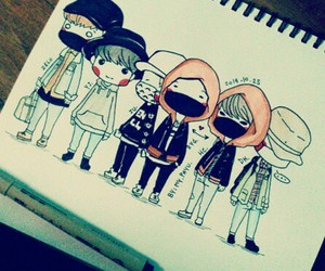 fanmade, zelo, and daehyun image