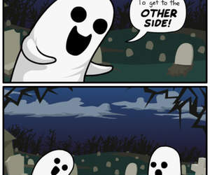 funny, Halloween, and ghostly humor image