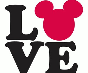 heart, love, and mouse image