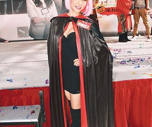 actress, black, and vampire image