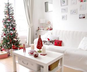 christmas, white, and home image