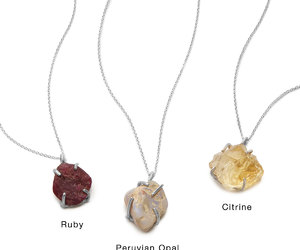 citrine, ruby, and unique image