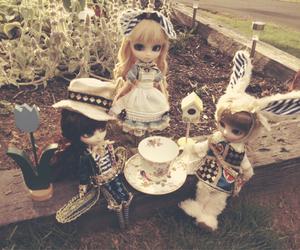 alice, alice in wonderland, and dolls image