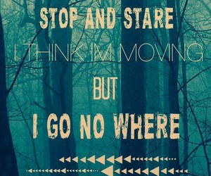 Lyrics, stop and stare, and one republic image