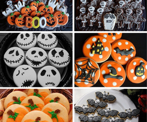 cupcakes, food porn, and Halloween image