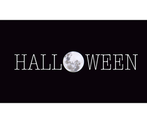 ghosts, Halloween, and moon image
