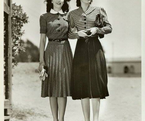 vintage, dress, and fashion image