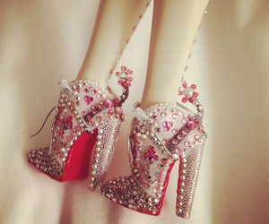 details, Dita von Teese, and doll shoes image