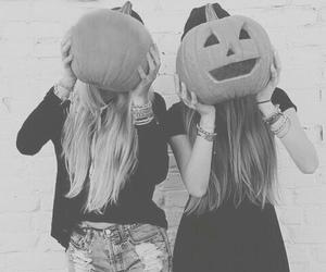 Halloween, pumpkin, and friends image