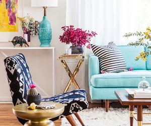 design, blue, and decor image