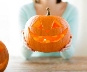 Halloween, pumkin, and horror image