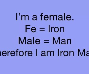 iron man, female, and funny image
