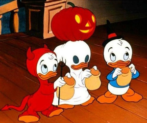 Halloween, disney, and donald duck image
