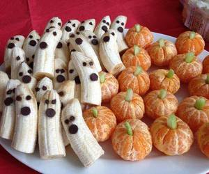 Halloween, banana, and food image