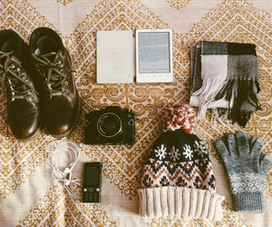gloves, hipster, and indie image