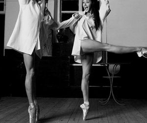ballet, dance, and friends image