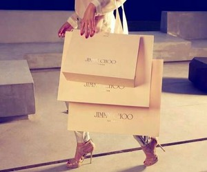 fashion, Jimmy Choo, and shopping image