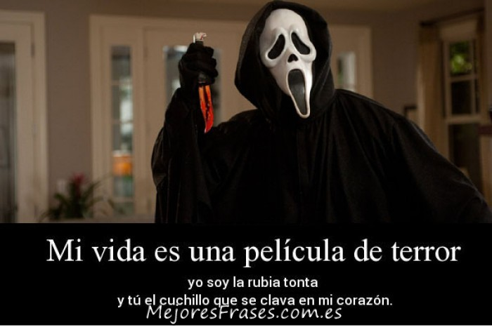 Frases De Miedo Para Halloween On We Heart It