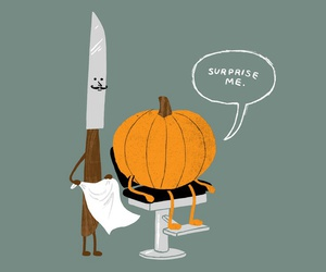 art, Halloween, and illustration image