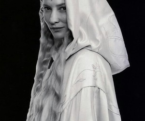 lord of the rings, the hobbit, and galadriel image