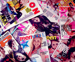 magazine, nylon, and Teen Vogue image