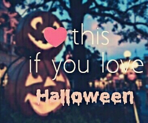 Halloween, love, and pumpkin image