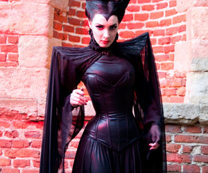 cosplay, Halloween, and maleficent image