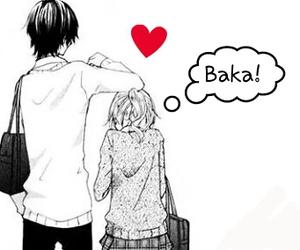 kawaii, manga anime, and love image