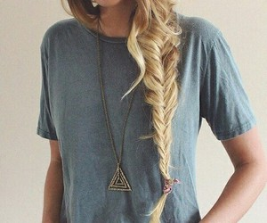 blonde, fabulous, and hair braid image